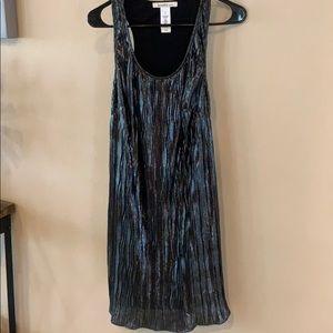 Laundry Black Shimmer Sleeveless SZ M Dress